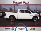 2010 Stone White Dodge Ram 1500 Sport Crew Cab 4x4 #59859526