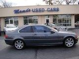 2001 Steel Grey Metallic BMW 3 Series 325i Coupe #59860146
