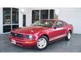 2007 Redfire Metallic Ford Mustang V6 Deluxe Coupe #5958323