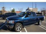 2007 Patriot Blue Pearl Dodge Ram 1500 SLT Quad Cab 4x4 #59860090