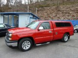 2007 Victory Red Chevrolet Silverado 1500 Classic Work Truck Regular Cab #59860617