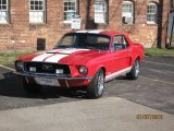 1968 Ford Mustang California Special Coupe Data, Info and Specs