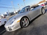 2007 Arctic Silver Metallic Porsche 911 Carrera S Cabriolet #59859400