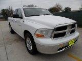 2010 Stone White Dodge Ram 1500 SLT Quad Cab #59860035