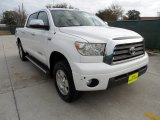 2007 Super White Toyota Tundra Limited CrewMax 4x4 #59860027