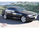 2005 Jet Black BMW 3 Series 330xi Sedan #59859368