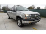 2004 Silver Birch Metallic Chevrolet Silverado 1500 Z71 Crew Cab 4x4 #59860019