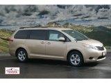 2012 Sandy Beach Metallic Toyota Sienna LE #59859352