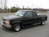 1999 Onyx Black Chevrolet Silverado 1500 LT Extended Cab #59860533