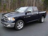 2012 True Blue Pearl Dodge Ram 1500 Big Horn Quad Cab 4x4 #59860525