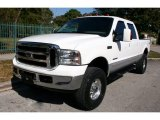 2002 Oxford White Ford F250 Super Duty Lariat Crew Cab 4x4 #59859981