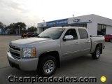 2008 Silver Birch Metallic Chevrolet Silverado 1500 LS Crew Cab #59859300