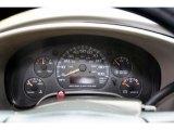 2004 Chevrolet Astro Passenger Van Gauges