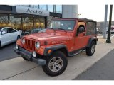 2006 Impact Orange Jeep Wrangler Unlimited Rubicon 4x4 #59859964
