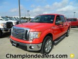 2011 Race Red Ford F150 XLT SuperCrew #59859273