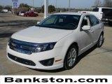2010 White Platinum Tri-coat Metallic Ford Fusion SEL #59859229