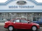 2012 Red Candy Metallic Ford Focus SE Sedan #59859940