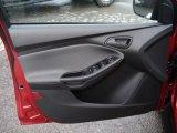 2012 Ford Focus SE Sedan Door Panel