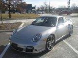 2007 GT Silver Metallic Porsche 911 Turbo Coupe #59860461