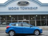 2012 Blue Candy Metallic Ford Focus SEL 5-Door #59859925