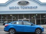 2012 Blue Candy Metallic Ford Focus SE Sport Sedan #59859922