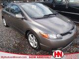 2007 Borrego Beige Metallic Honda Civic EX Coupe #59859050