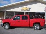 2012 Victory Red Chevrolet Silverado 1500 LT Crew Cab 4x4 #59860417
