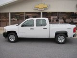 2012 Summit White Chevrolet Silverado 1500 Work Truck Crew Cab 4x4 #59860412