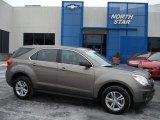 2010 Mocha Steel Metallic Chevrolet Equinox LS #59859886