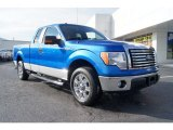 2010 Blue Flame Metallic Ford F150 XLT SuperCab #59859859