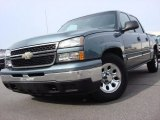 2006 Blue Granite Metallic Chevrolet Silverado 1500 LS Crew Cab #59859812