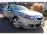 2009 Glacier Blue Metallic Acura TSX Sedan #59859793
