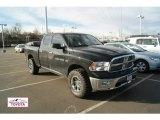 2011 Brilliant Black Crystal Pearl Dodge Ram 1500 Big Horn Quad Cab 4x4 #59980927