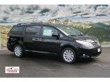 2012 Black Toyota Sienna Limited AWD #59980898
