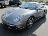 2008 Meteor Grey Metallic Porsche 911 Turbo Coupe #59981047