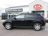 2007 Super Black Nissan Murano S AWD #5967400