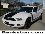 2011 Performance White Ford Mustang V6 Premium Coupe #59980830