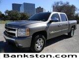 2008 Graystone Metallic Chevrolet Silverado 1500 LT Crew Cab #59980821