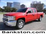 2012 Victory Red Chevrolet Silverado 1500 LT Extended Cab #59980819