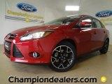 2012 Red Candy Metallic Ford Focus Titanium Sedan #59981002