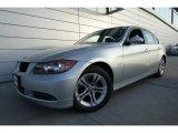 2008 Titanium Silver Metallic BMW 3 Series 328xi Sedan #59980974