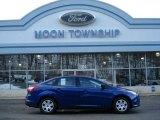 2012 Sonic Blue Metallic Ford Focus S Sedan #60009410