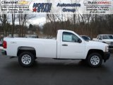2012 Summit White Chevrolet Silverado 1500 Work Truck Regular Cab 4x4 #60009390