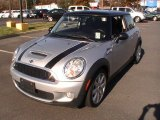 2007 Sparkling Silver Metallic Mini Cooper S Hardtop #60009370