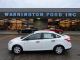 2012 Oxford White Ford Focus S Sedan #60009515