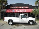 2006 Summit White Chevrolet Silverado 1500 Work Truck Regular Cab 4x4 #60009329