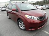 2011 Salsa Red Pearl Toyota Sienna LE #60009500