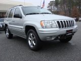 2002 Bright Silver Metallic Jeep Grand Cherokee Overland 4x4 #60009311