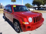 2010 Jeep Patriot Inferno Red Crystal Pearl