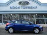 2012 Sonic Blue Metallic Ford Focus SE 5-Door #60009413